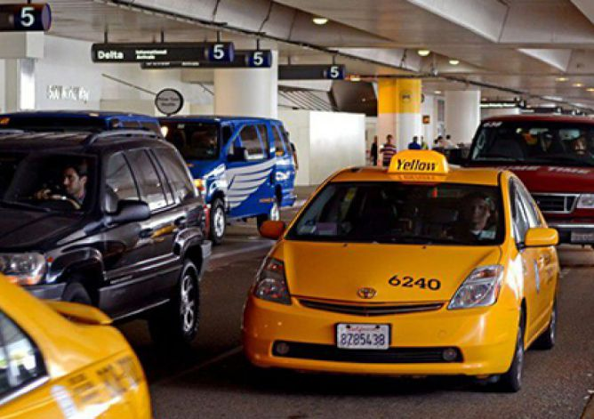 LAX Changing Taxi and Ride-hail Pickups